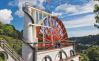 UK & Ireland coach holiday - Laxey Wheel_Isle-of-Man