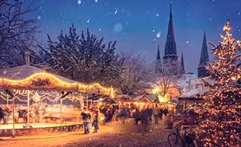 Christmas market and Seasonal  Trips and holidays