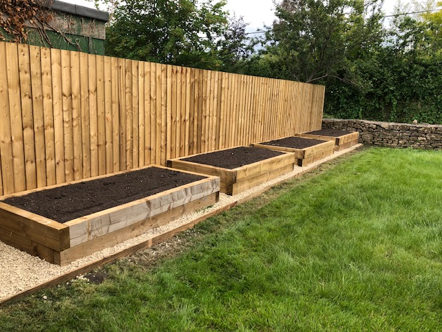 garden landscaping in bath