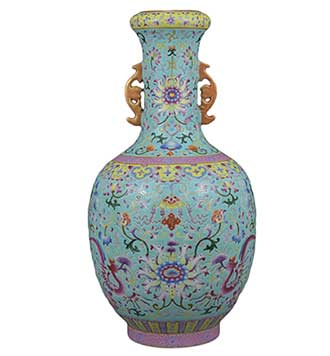 Chinese Vase antique auction Bath