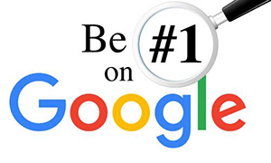 Page 1 on Google with Web Design Chippenham