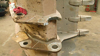 Excavator Bucket Repair