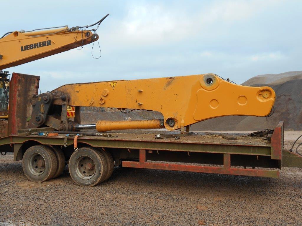 Excavator Boom Repair